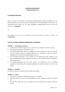 Voorbeeld document