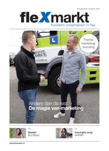 Anders dan de rest De magie van marketing