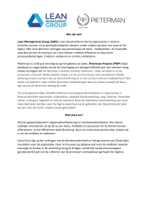 PMP - Lean Management Group