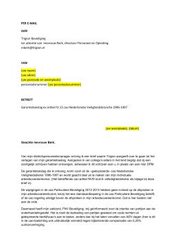 voorbeeldbrief gratificatie Behoud   Vereniging GehandicaptenzNederland voorbeeldbrief gratificatie