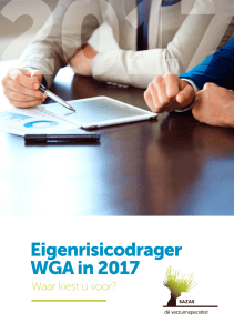 Eigenrisicodrager WGA in 2017