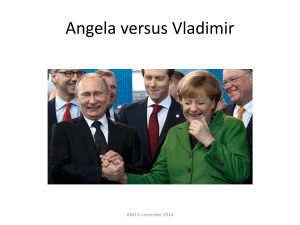 Workshop Angela versus Vladimir