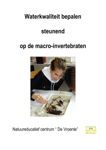 05-Determineertabel macro-invertebraten