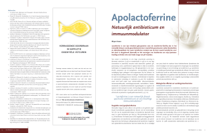 apolactoferrine - Natura Foundation