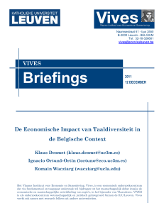20111212 BRIEFINGS impact taaldiversiteit