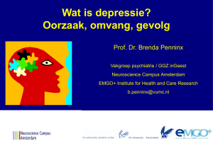 No Slide Title - Depressie Vereniging
