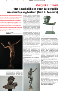 Kunstkrant – september/oktober 2012 – Margot Homan