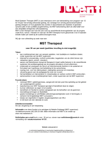 MST Therapeut