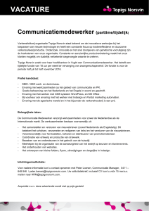 vacature - Topigs Norsvin