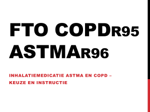 FTO astma copd