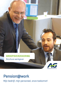 Pension@work - AG Insurance