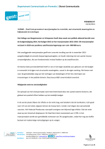 Departement Communicatie en Promotie | Dienst Communicatie