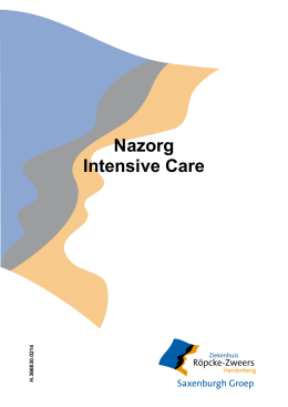 PDF Nazorg Intensive Care