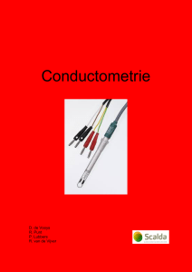 Conductometrie