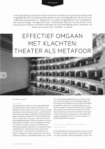 theater als metafoor