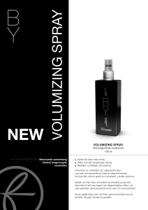 Volumizing Spray