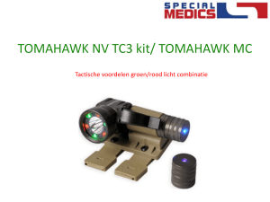 Tactische Test Tomahawk TC3 NV