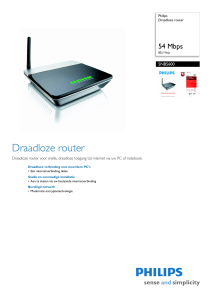 SNB5600/00 Philips Draadloze router