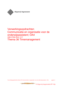 Thema 36 Time Management - Profi