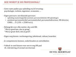 Verslag 24 april 2014 - presentatie Duvel