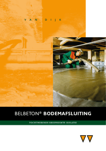 belbeton® bodemafsluiting