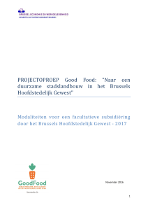 PROJECTOPROEP Good Food:
