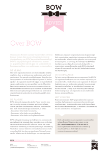 Over BOW - BOW psychologisch advies