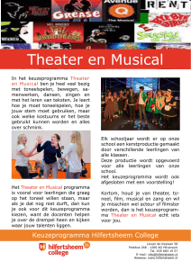 Theater en Musical