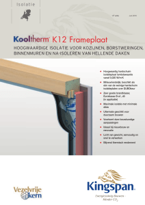 K12 Frameplaat - Kingspan | Group