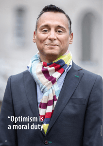 """Optimism is a moral duty"""