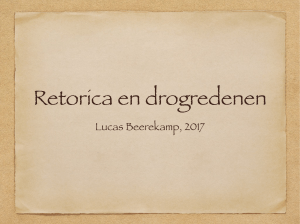 retorica denkbeer 5 april