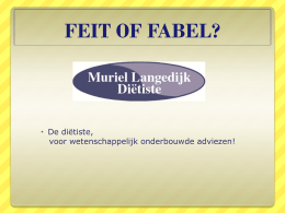 FEIT OF FABEL?