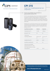 CPI 315 - Compressor Products International