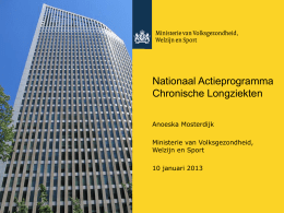 Slide 1 - Long Alliantie Nederland