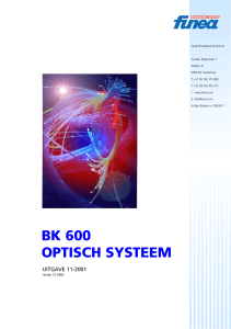 Optisch systeem.p65 - Funea Broadband Services BV