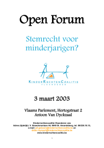 programma open forum inclusie