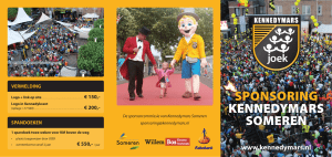 Folder Sponsoring Kennedymars Someren