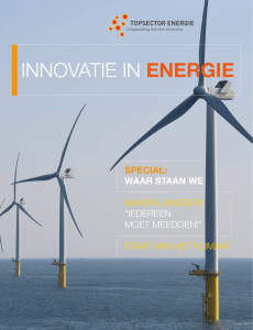 innovatie in energie