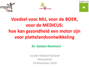 PowerPoint-presentatie - LEADER Holland Rijnland