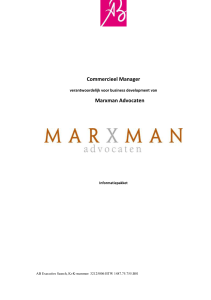 Marxman Advocaten - AB Executive Search