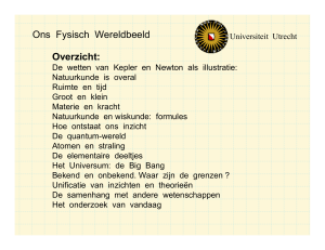 Introductie - Universiteit Utrecht