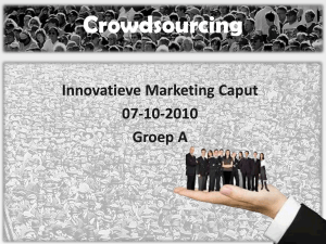 Crowd sourcing - WordPress.com