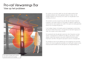 Pro-rail Verwarmings Bar
