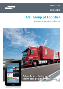GVT Group of Logistics - Logi-App