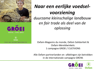 CASE Green Net - Oxfam Fairtrade
