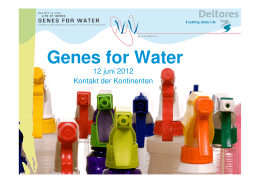 Genes for Water