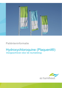 Hydroxychloroquine (Plaquenil®)