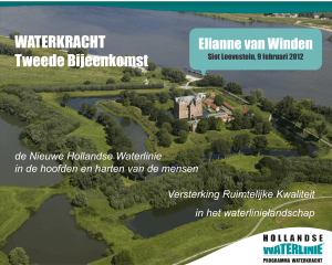 MCW Studio`s - Hollandse Waterlinie