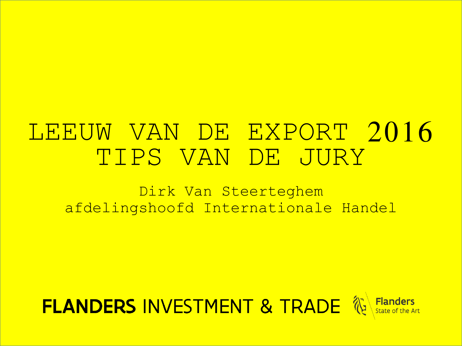 Stage Internationale Handel - Import/Export AGF