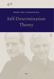 SelfDetermination Theory